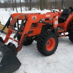 Okonski Auction #26 Kubota Tractor